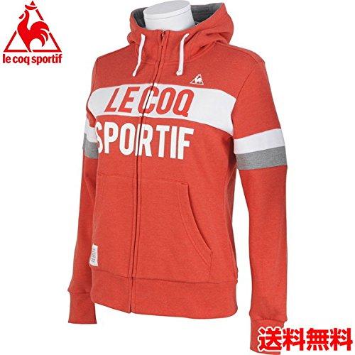 (ルコック) le coq sportif レディース スポーツウェア LFフードジップスウエット QL-565153 RED L