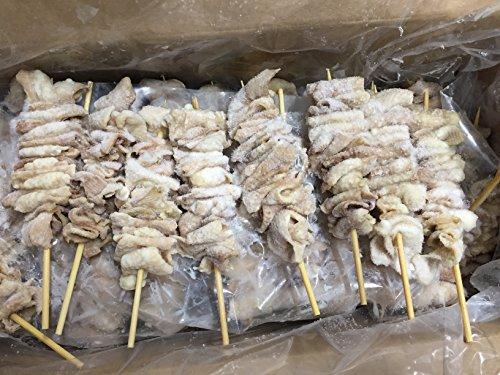 冷凍 スチーム焼き鳥首皮串 30g×50本入(1.5kg)業務用