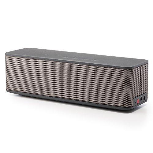 campino audio 高音質 ハイレゾ音源対応 Bluetooth ポータブルスピーカー ワイヤレススピーカー (ブラック/ Black) CP-SP500H-BK
