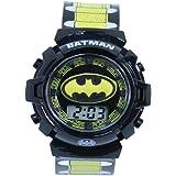 DC Comics Batman Kids' BAT4177 Digital Display Quartz Multi-Color Watch
