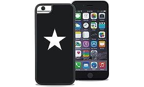 WAYLLY ウェイリー iPhoneケース iPhone 6/6s/7/8 対応 どこでもくっつく 耐衝撃 (STAR)