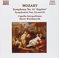 Mozart:Symphonies 25,32,41