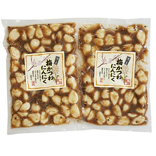 梅にんにく 黒ごま 梅かつおニンニク(プレーン) 230g×2袋<09860>