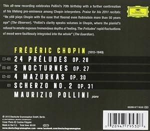 24 Preludes/Nocturnes/Mazurkas/Scherzo