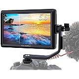 Feelworld FW568 カメラ用液晶モニター 5.5インチIPS 超薄型 1920x1080 HD オンカメラ ビデオモニター 4K HDMI信号出力 一眼レフ カメラ撮影確認用 DSLR カメラフィールドモニター ビデオピーキングフォーカス
