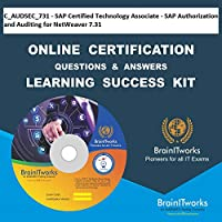 C_AUDSEC_731 - SAP Certified Technology Associate - SAP Authorization and Auditing for NetWeaver 7.31 Online Certification Video Learning Made Easy