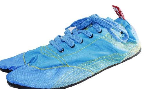 [無敵]MUTEKI 【ランニング足袋】伝統職人の匠技が創り出すランニングシューズ《008-muteki-サックスブルー》 (26.5)