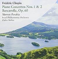 Murray Perahia Plays Chopin Piano Concertos No.s 1 & 2 Etc. (2003-04-04)