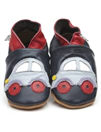 Soft Leather Baby Shoes Car [ソフトレザーベビーシューズカー] 3-4 years (16.5 cm)