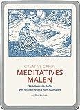 Meditatives Malen (Creative Cards): Die schoensten Bilder von William Morris zum Ausmalen