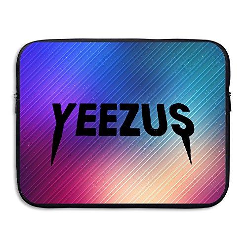 Sunshine SUNシャイン カニエウェスト 歌手 イラスト コンピューター用スリーブ タブレット 薄型 Black 15 Inch