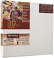 Masterpiece Artist Canvas DA-2147 3D Pro 2-1/2 Deep 21 x 47 Linen 12.0oz - 4X - Muir Acrylic Primed [並行輸入品]