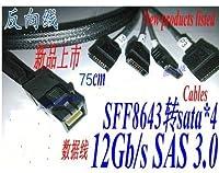 Ben_ke SFF8643ターンデータX4 12Gb/s SAS RHS36-4395リバースデータライン