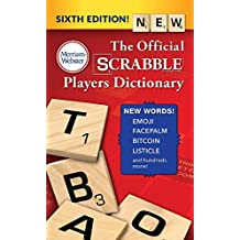 The Official SCRABBLE Players Dictionary, Sixth Edition (mass market paperback) 2018 copyright