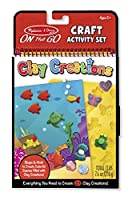 Melissa & Doug on-the-goクラフトセット – Clay Creations 9440