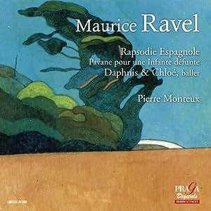 ラヴェル : バレエ「ダフニスとクロエ」 (全曲) 他 (Maurice Ravel : Rapsodie Espagnole | Pavane pour une Infante defunte | Daphnis & Chloe, ballet / Pierre Monteux) [SACD Hybrid] [輸入盤]
