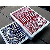 TALLY-HO・タリホー・サークルバック・---ポーカーサイズ---・-ブルー-