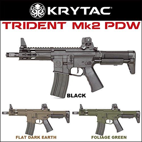 KRYTAC電動ガン本体 TRIDENT Mk2 PDW(トライデント マーク2 PDW) フォリッジグリーン(対象年齢18歳以上)