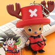(ドラゴンボール×ワンピース)少年ジャンプ40周年☆夢の最強ぷらぷらキーチェーン(孫悟空・幼少)