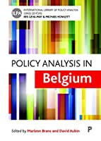 Policy Analysis in Belgium (International Library of Policy Analysis)