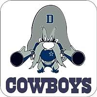4コースターのセットのコルクBacking Cowboys Yosemite Sam Inダラス