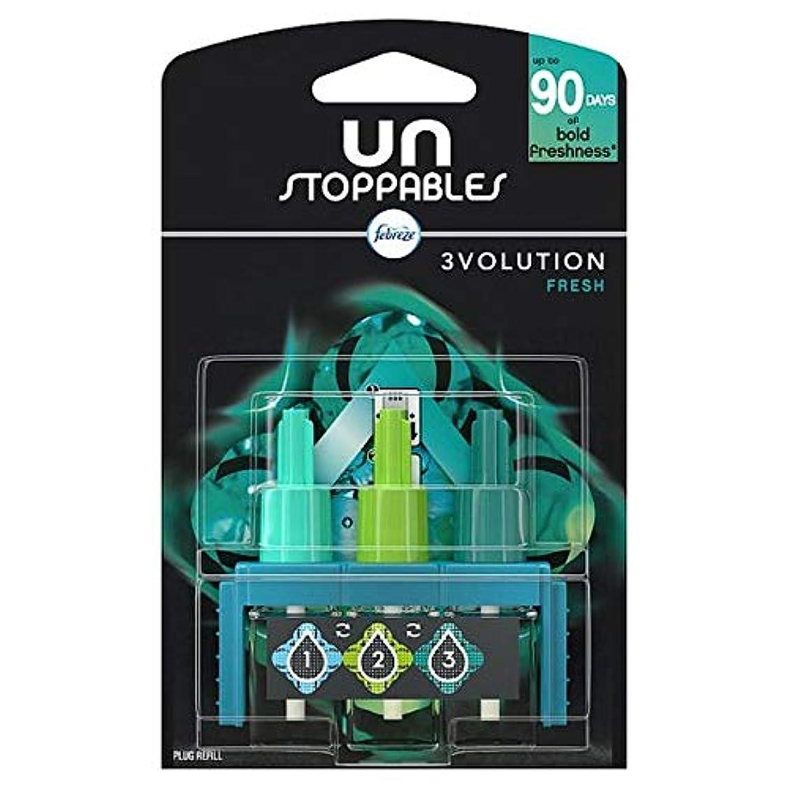 文法解放する支配的[Febreze] リフィル20ミリリットルでUnstoppables 3Volution新鮮なプラグイン - Unstoppables 3Volution Fresh Plug In Refill 20Ml [並行輸入品]