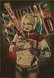 スーサイドスクワット自殺分隊ジョーカーレトロなロックバンド映画ギターマットアンティーククラフト紙ポスター 42x30cm [並行輸入品]