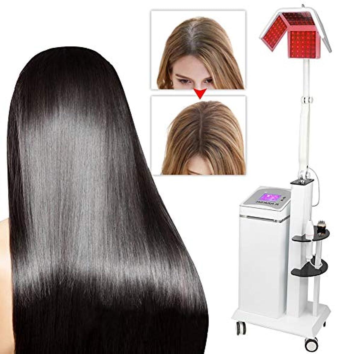 アーカイブヒョウバッジ髪の成長システム薄毛の男性と女性のためのプロフェッショナル脱毛ソリューションマシンヘアケア機器