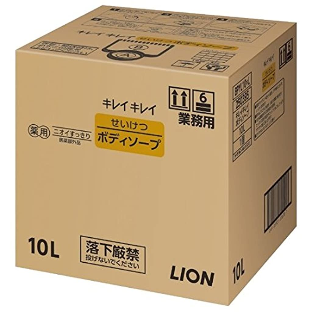 警報瞑想する順応性ライオン 業務用 キレイキレイ せいけつボディソープ 10L