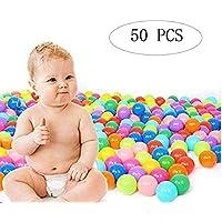 Orland キッズ 幼児用 遊び ソフトプラスチック 海のボール 遊び場 波 ボール おもちゃ 子供用 プール 屋内 遊び パーティー 子供用 1