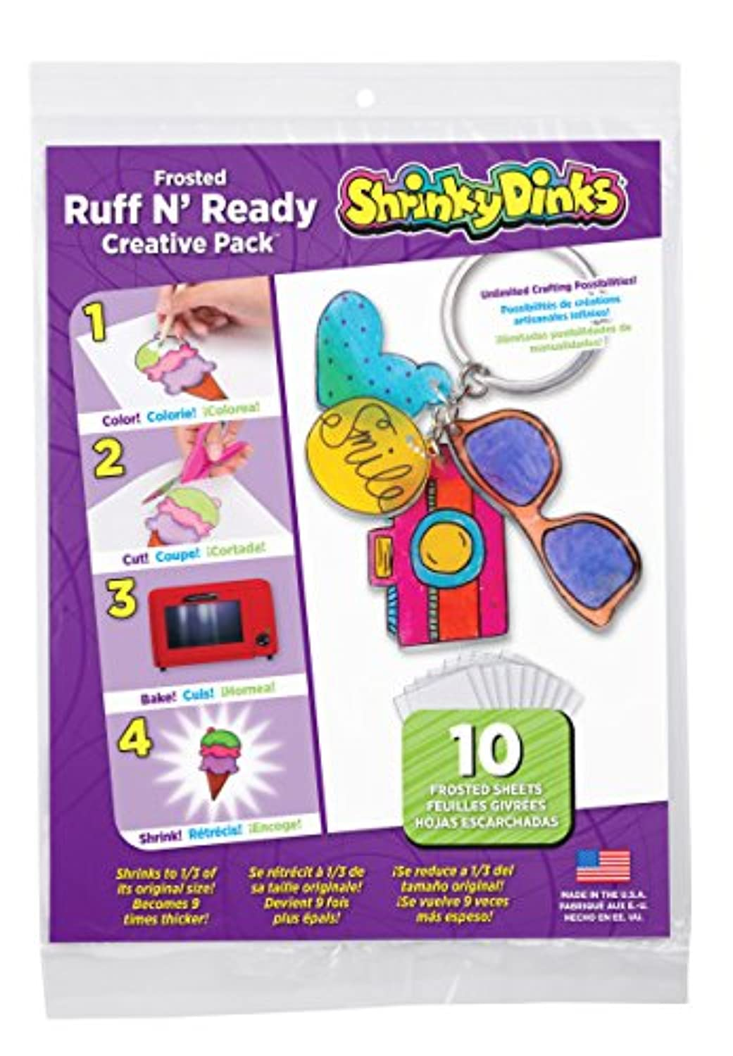 Shrinky Dinks Frosted Ruff n' Ready -10pc