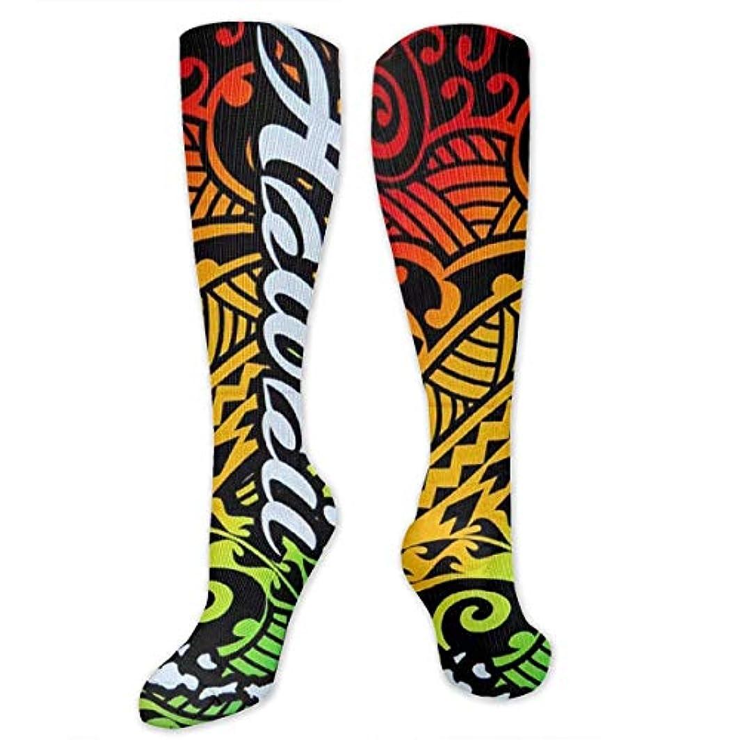 ハブブ投票惑星靴下,ストッキング,野生のジョーカー,実際,秋の本質,冬必須,サマーウェア&RBXAA Hawaii Island Socks Women's Winter Cotton Long Tube Socks Knee High...