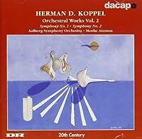 コッペル:交響曲第1番, 第2番(アールボルグ響)