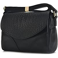 Sanxiner Women's Leather Crossbody Bag Messenger Bags Purse Shoulder Handbags