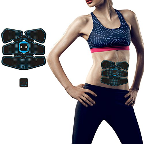 EMS・腹筋ベルトアブズフィット ダイエット腹筋マシン 女性 男性 腹筋专用 腕部 太もも エクササイズ用