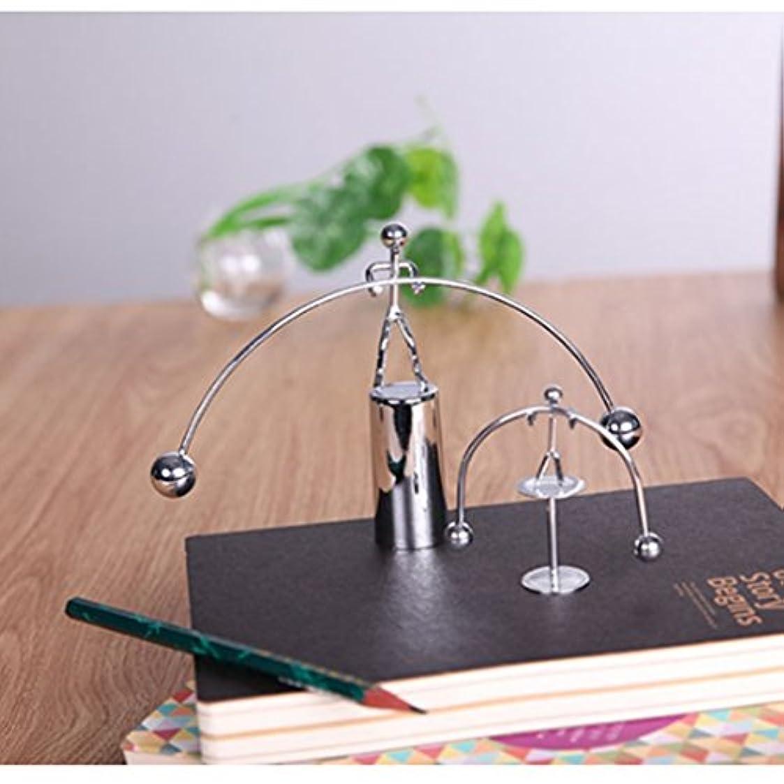 つば復活させる鉛筆HKUN 重量 リフター ニュートンのクレードル おもちゃホームオフィス用
