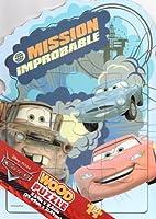 Disney PIXAR Cars(カーズ)12ピース Wooden Puzzle(ウッドパズル)【並行輸入品】
