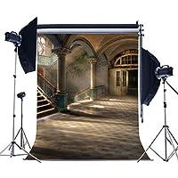 mueeu 8x 8ftアンティーク病院ハロウィン写真の背景幕Pictorial布印刷写真背景カスタムStudio小道具