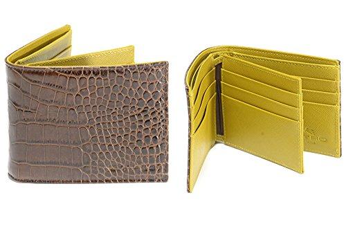 ETRO (エトロ) 二つ折り 財布 ウォレット バイカラー/レザー【メンズ】【レディース】【並行輸入品】