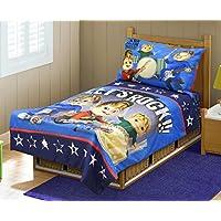 Alvinn & The Chipmunks Toddler Bedding Set, Blue/Navy by Alvinn & Chipmunks