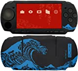 和・彩・美 (WA・SA・BI) 『PSP-2000/3000用 柔装飾シート 津波 (北斎) 』