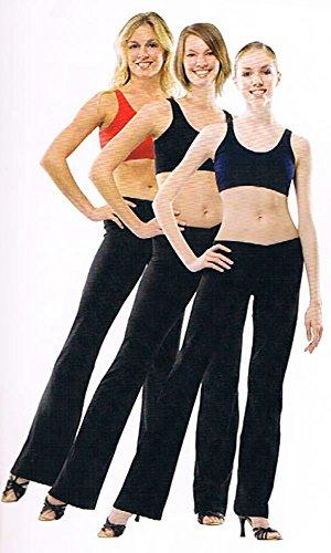 カペジオ Jazz Pants (ジャズパンツ) 黒 男女兼用 30S-Small