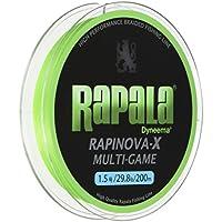 ラパラ(Rapala) PEライン ラピノヴァX マルチゲーム 200m 1.5号 29.8lb ライムグリーン RLX200M15LG