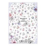 写ネイル ネイルシール Sha-NailPro Botanical Line Flowers BLF-001