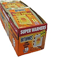 HotHands Body & Hand Super Warmer (120 Pair Economy Pack ) by HotHands