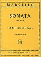 MARCELLO - Sonata en Mi menor para Fagot y Piano (Sharrow)