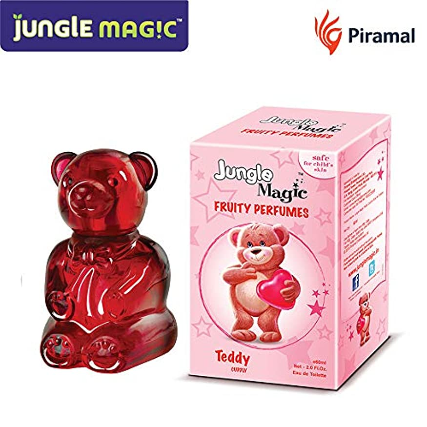 助けになる自動車巨人Jungle Magic Cuddly Teddy Fruity Perfume, 60ml