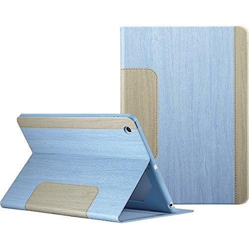 iPad Mini ケース ESR iPad Mini2 ケース レザー 合皮 iPad Mini3 ケース 軽量 シンプル スエード柔らかな内側 スタンド機能 オートスリープ スリム 傷つけ防止 二つ折 iPad Mini1/2/3 スマートカバー (藤色)