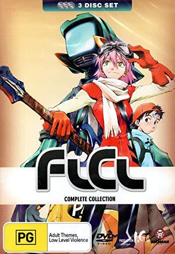 FLCL DVD-BOX (全6話,約180分) (3disc) アニメ フリクリ コンプリート OVA [DVD] [Import] [PAL, 再生環境をご確認ください]