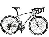 SCHNEIZER(シュナイザー) 自転車 R101 ブレーキとシフターが一体になったSHIMANOデュアルコントロールSTIレバー14速(シルバー,700C(完成車))